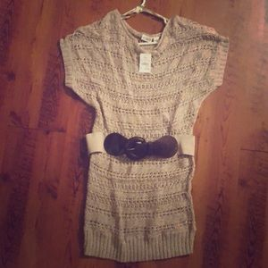 Cato Sweater Dress with Belt